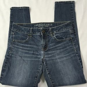 American Eagle Super Stretch Skinny Ankle Jeans 4